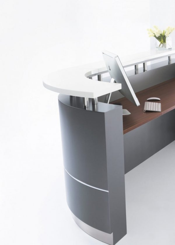 Character (C-Shape) Reception Counter