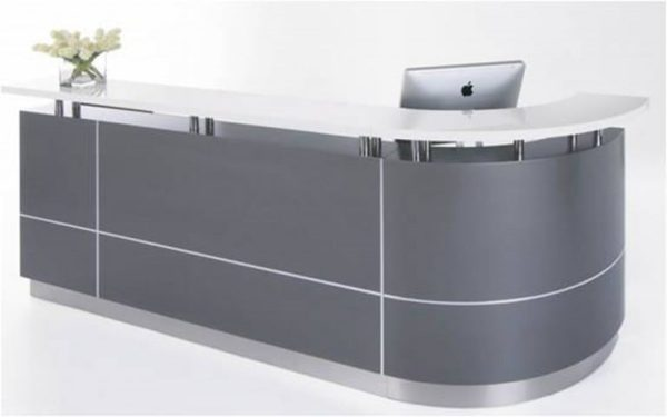 Character (J-Shape) Reception Counter