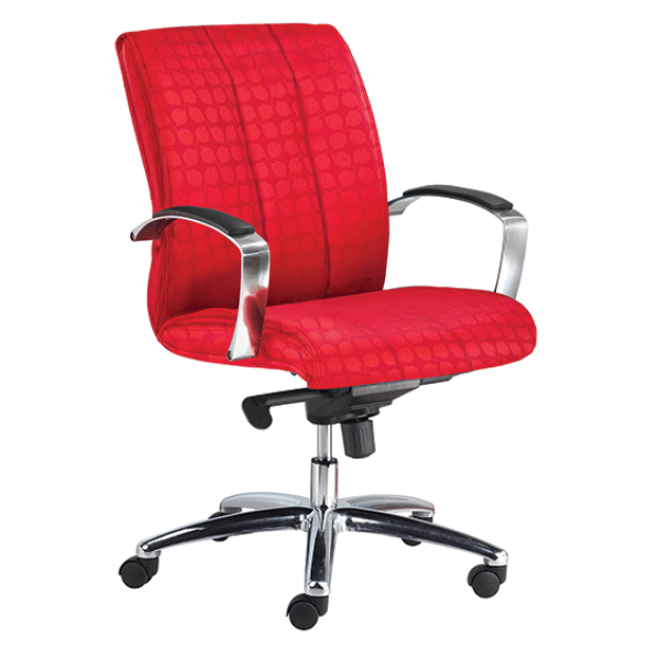 red clyde chair
