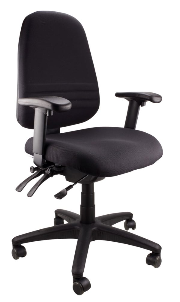 Black Endeavour - 103A S/S Clerical Chair