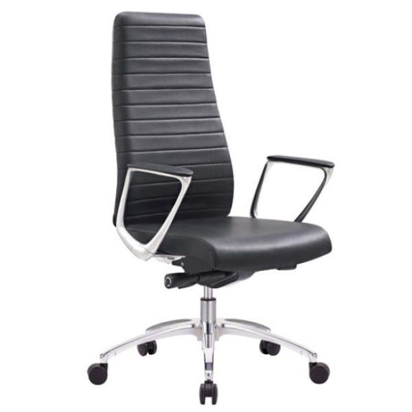black lorenzo chair