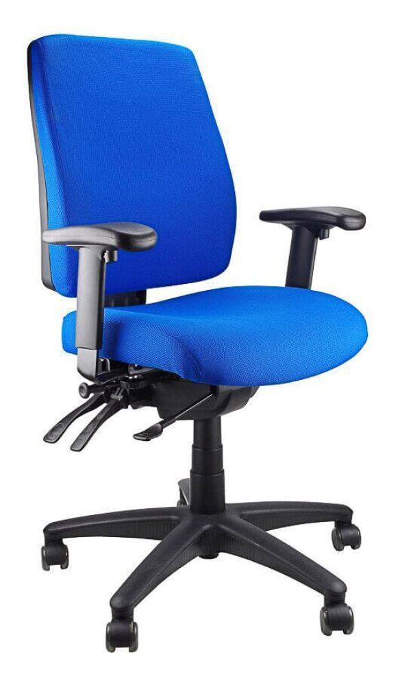 ergoform - clerical (black base) chair