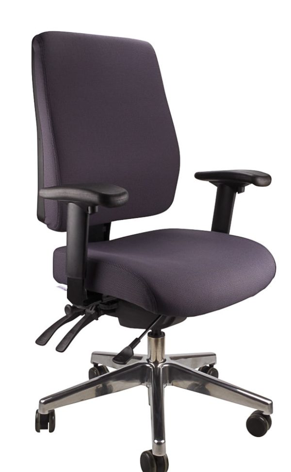 Ergo form - clerical polished chair