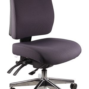 Ergo Form – Typist (Polished Base) Chair