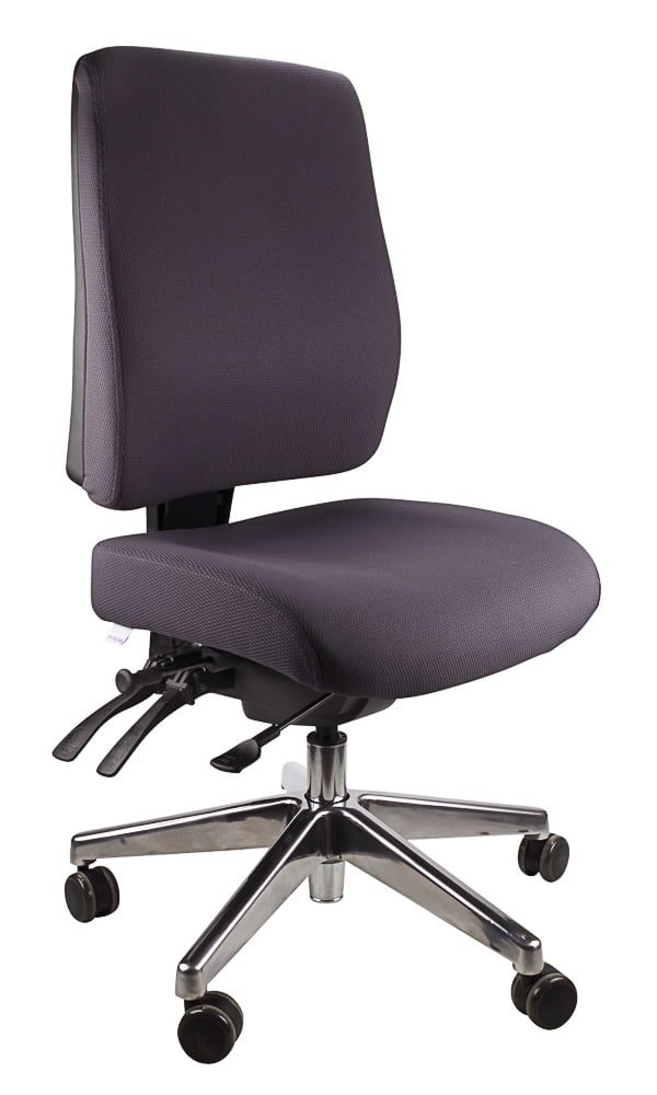 ergo form - Typist (polished base) Chair