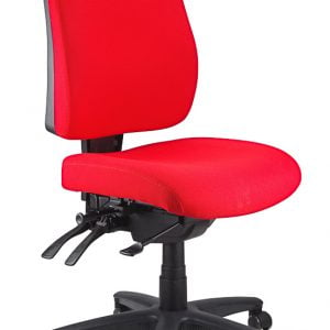 Ergoform – Typist (Black Base) Chair