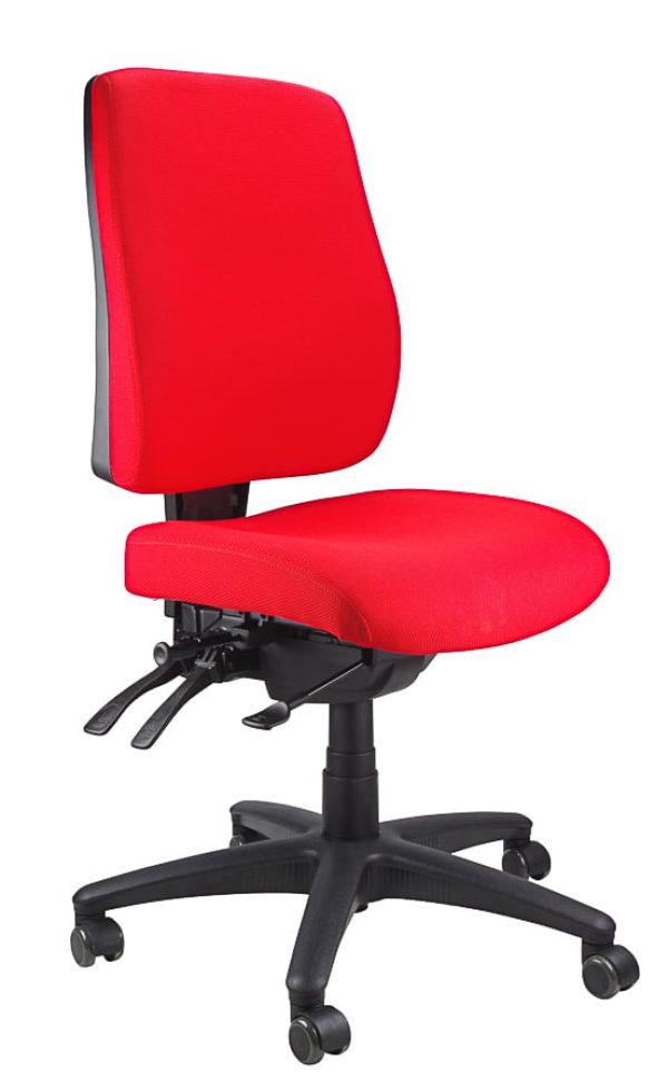 ergoform - typist (black base) chair