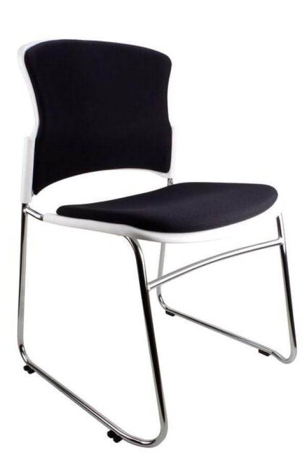 chrome frame eve chair