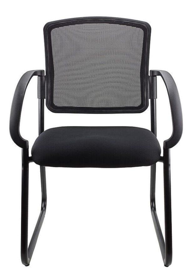 black Jordan Visitor Chair