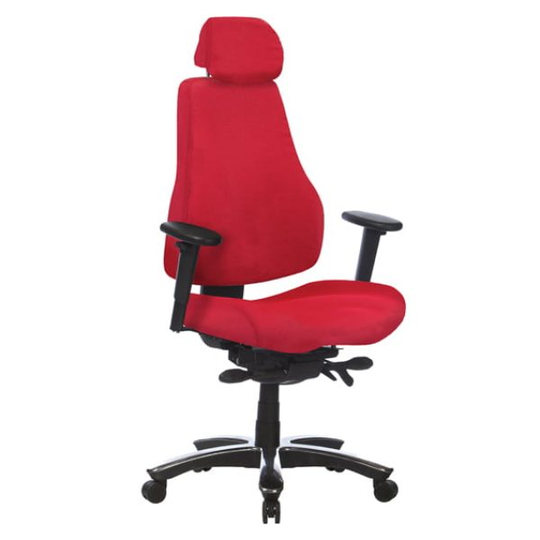 red ranger chair