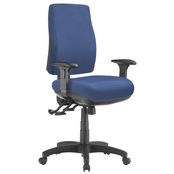 blue speck chair