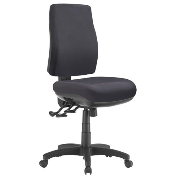 black speck chair