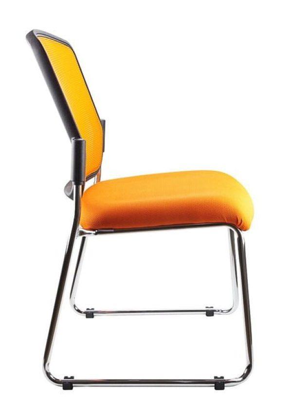 orange spencer chair