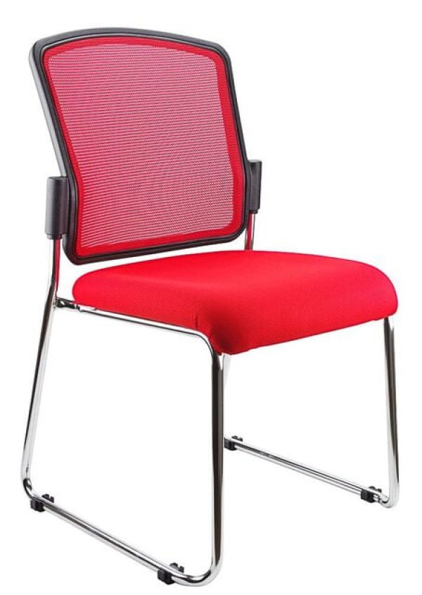 red spencer chair