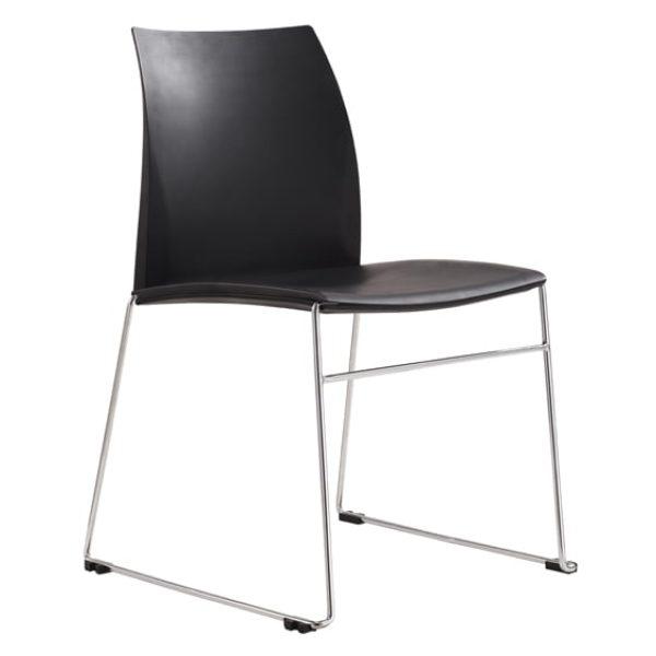 black vincent chair