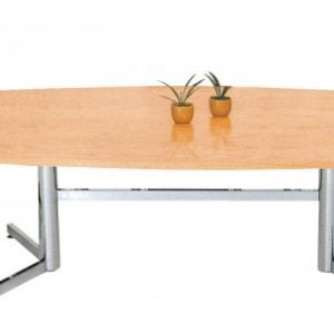 Express Boardroom Table – Chrome Legs