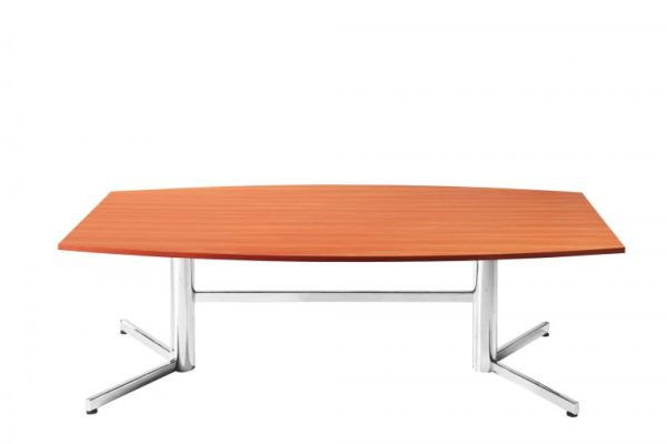 Express Boardroom Table - Chrome Legs