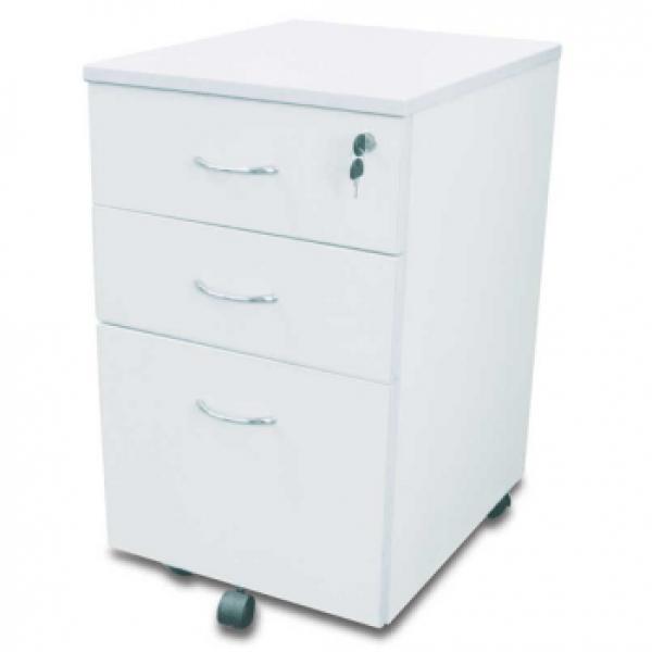 Express Mobile Desk Pedestal - 2 Draws & 1 File