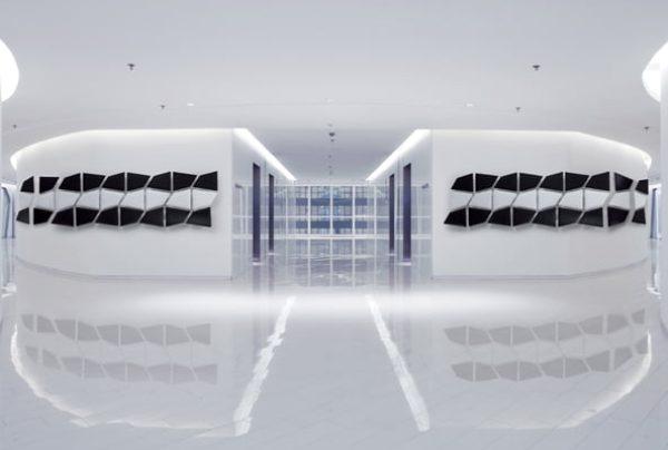 flap acoustic partition