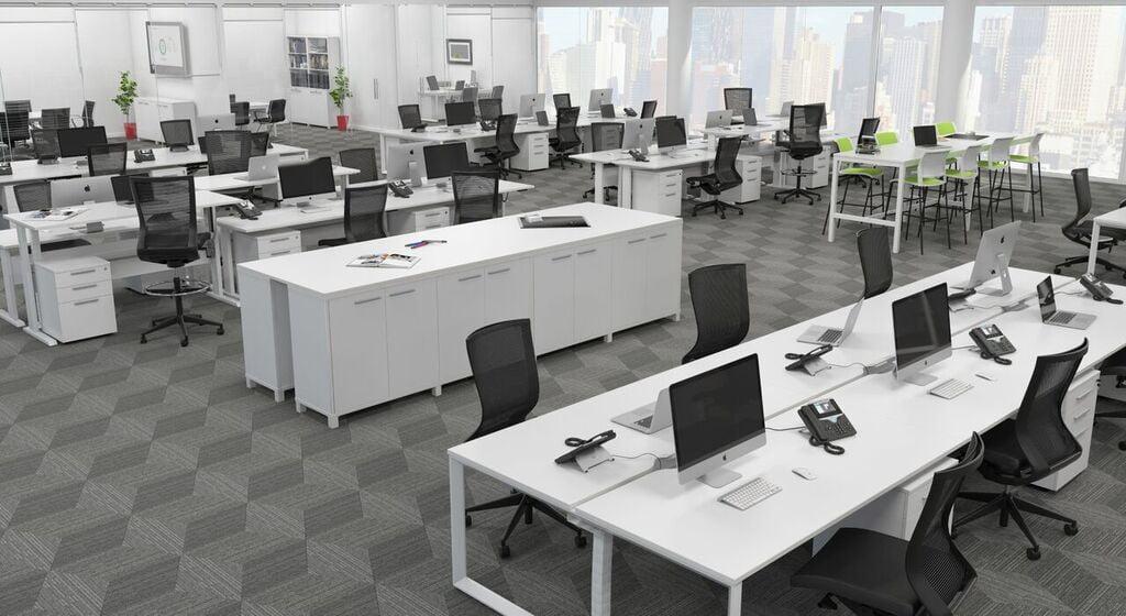 Commercial Loop Leg Office Plus Furniture