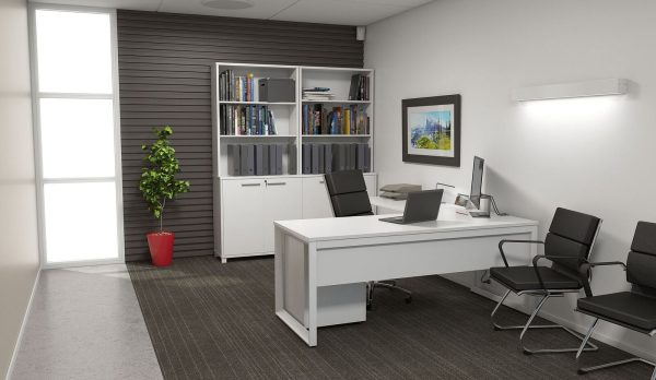 commercial loop leg workstations