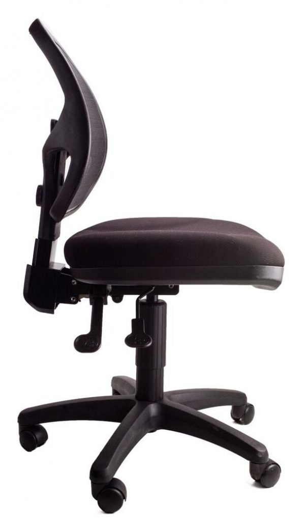 black cosmic chair