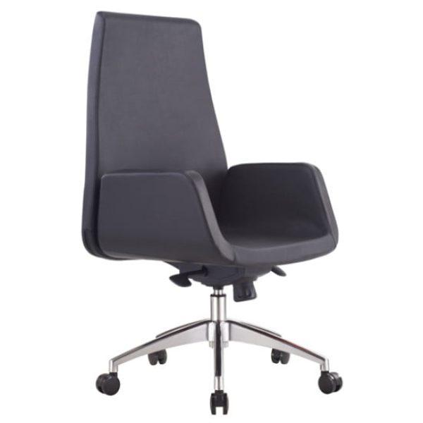 black qubix office chair
