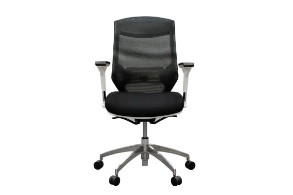 black mikado plus office chair