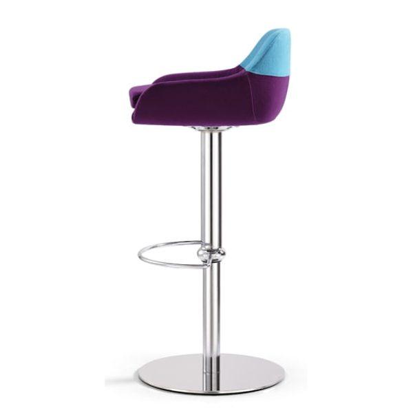 Adjustable floss stool