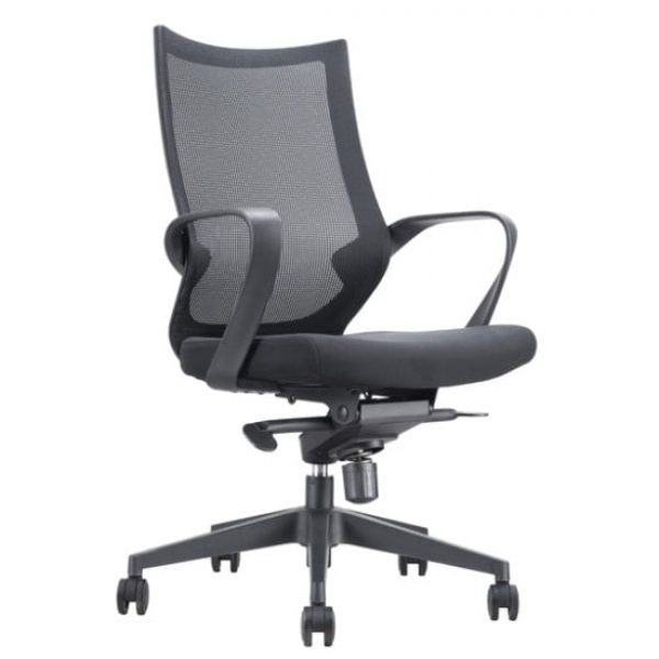 black fete office chair