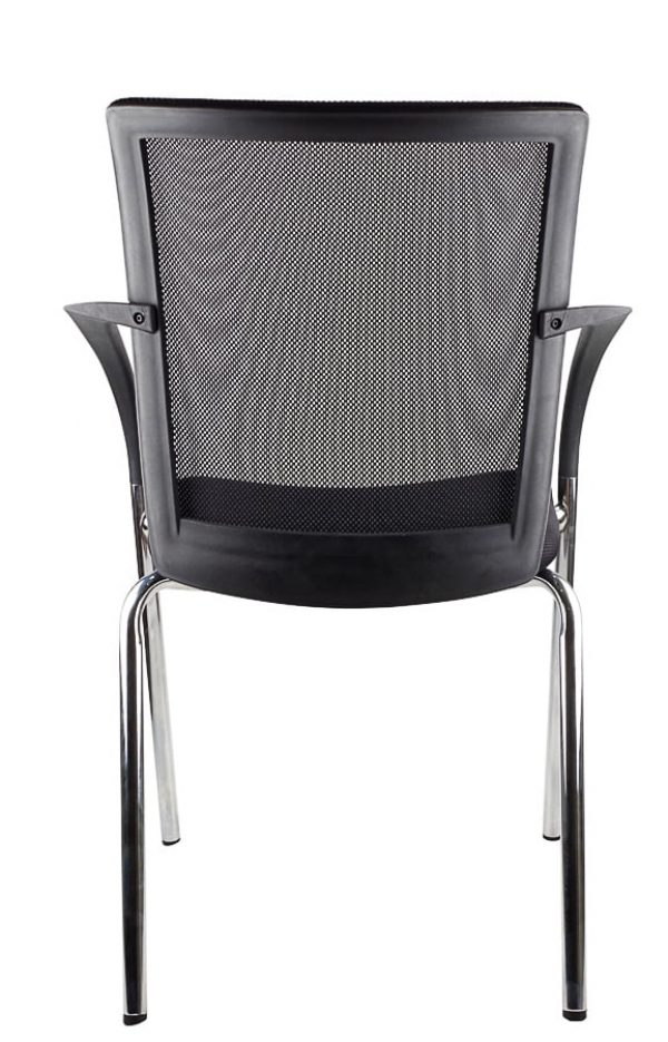 chrome frame space visitor chair
