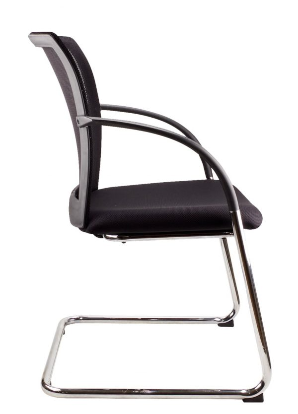 mesh back space visitor chair