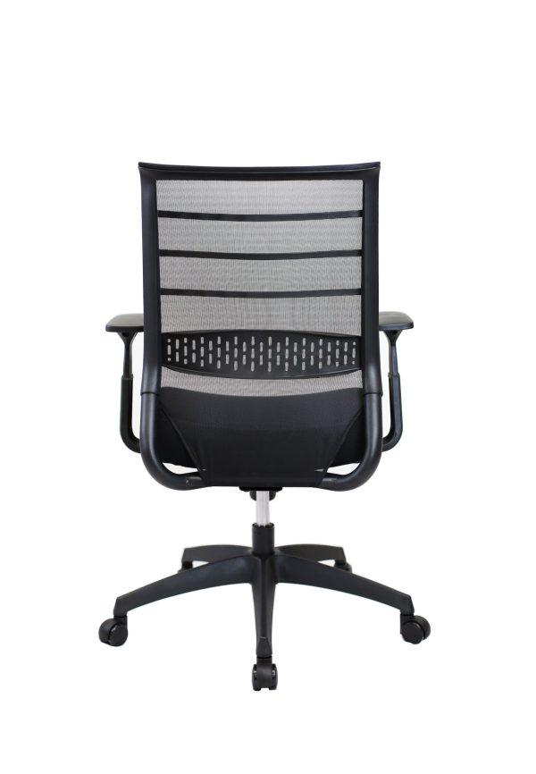 black omnico chair