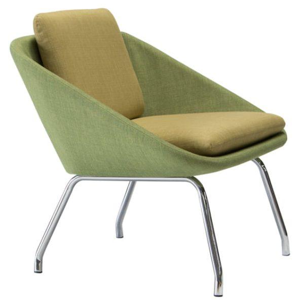 steel inner frame herbet visitor chair