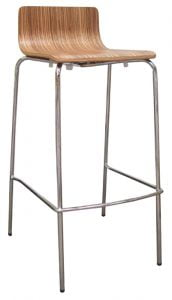 Caprie low back stool