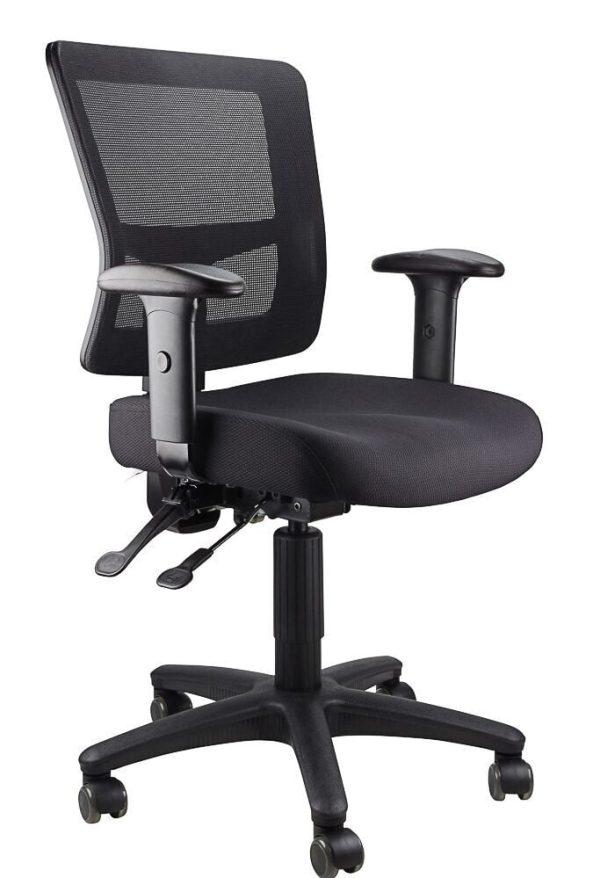 black ledo chair