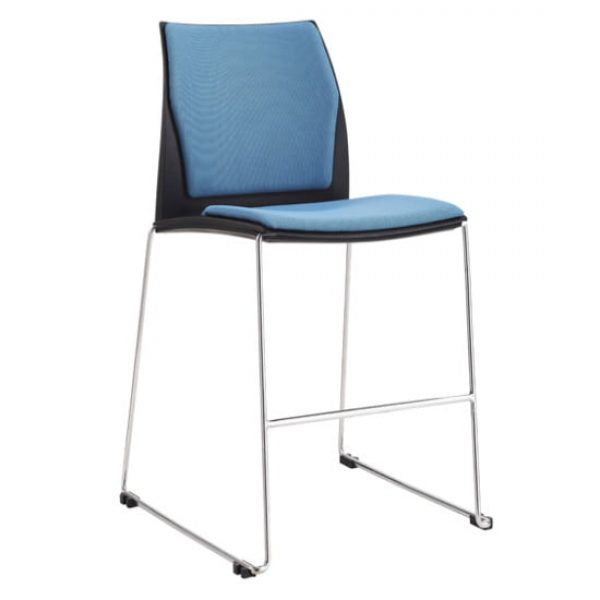 blue vincent stool