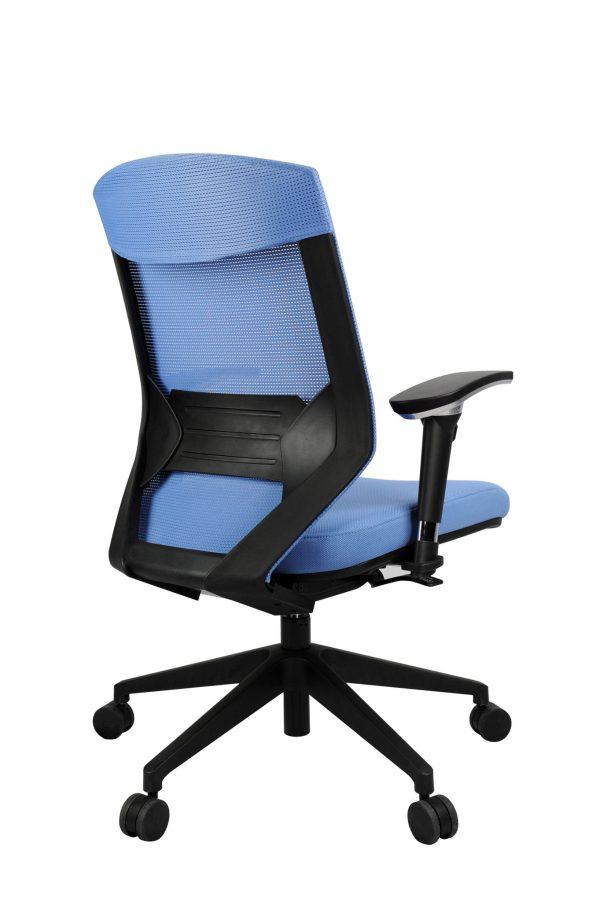 blue mikado office chair
