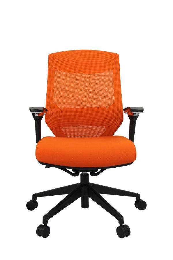 orange mikado office chair