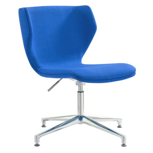 blue azura visitor chair
