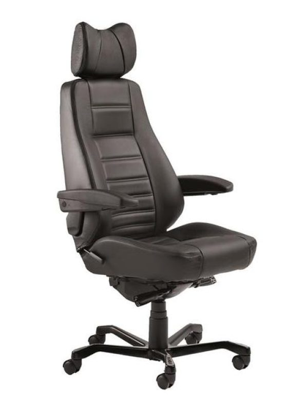 leather controller chair