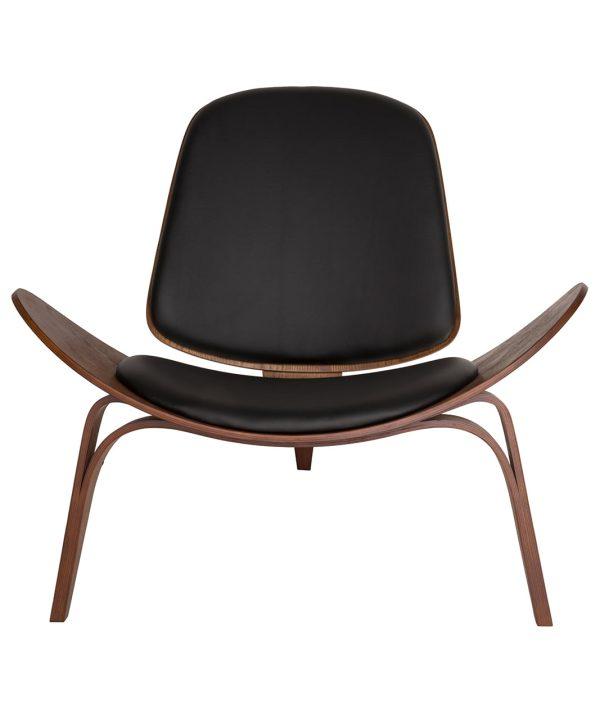 black wing designer chair