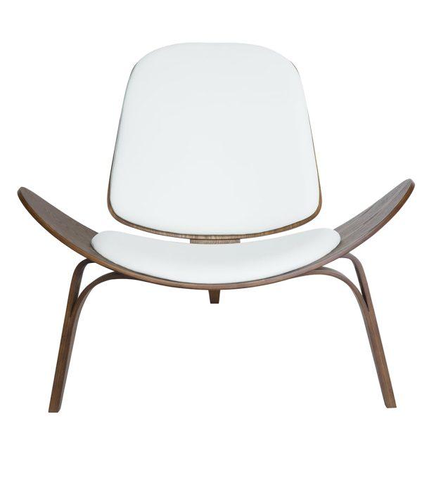 white wing designer chair