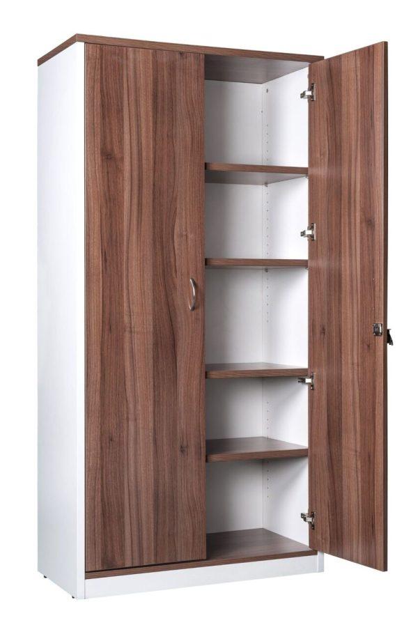 white prestige full door cabinet