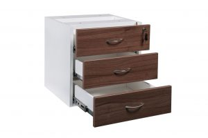 Prestige 3 drawer Fixed pedestal