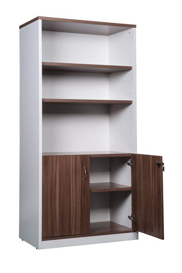 white prestige half door cabinet