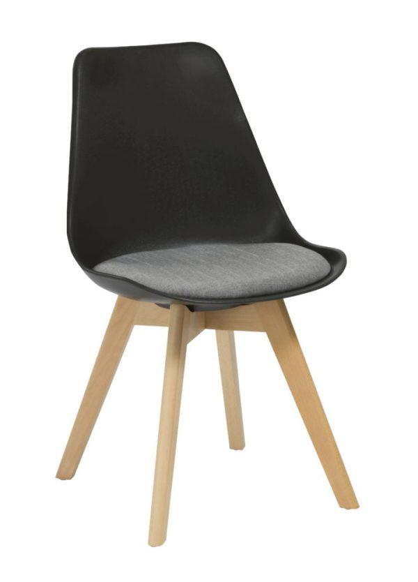 Black elliot chair
