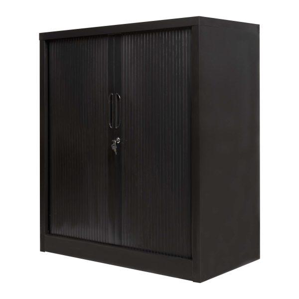 Finess Tambour Door Black