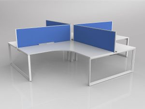 Loop Desking + Mesh Kimberly Chair