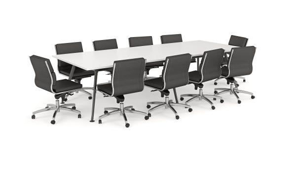 Team Boardroom Table + Flex Chair